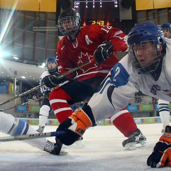 ijshockey sfeer